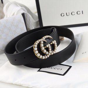 NWT Fashion Pearl Belt length 90 By Gucci 🌟